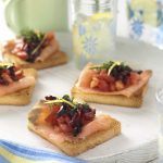 Harris Farms - Salmon Bruschetta - Recipe Cards, POS