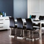 Better Electrical - White Chrome Dinning Set - Catalogue